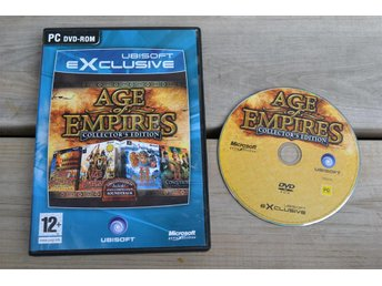 Age of Empires Collector's Edition (2:an II, Expansioner) PC Fint Skick - Vännäs - Age of Empires Collector's Edition (2:an II, Expansioner) PC Fint Skick - Vännäs