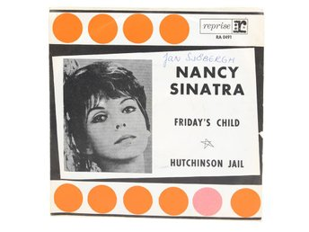 Nancy Sinatra - Friday's Child RA 0491 Singel 1966 - Viksjö - Nancy Sinatra - Friday's Child RA 0491 Singel 1966 - Viksjö