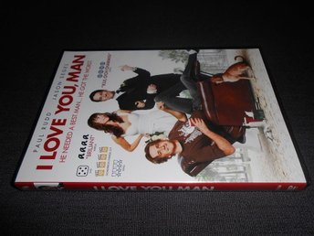 DVD: I Love You, Man. Komedi från 2009 med Jason Segel, Paul Rudd m.f. - Bromölla - DVD: I Love You, Man. Komedi från 2009 med Jason Segel, Paul Rudd m.f. - Bromölla