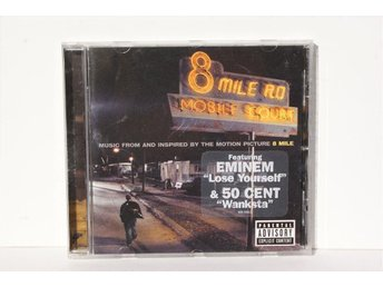 "Eminem ""8 Mile"" Soundtrack Cd Ny/ ospelad."