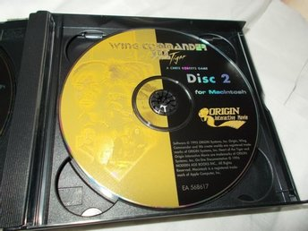 Wing Commander III The Heart of The Tiger Mac CD ROM spel