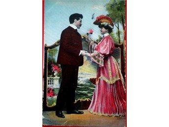 19.2.1907. Vackra romantiska bild - Valkeala - 19.2.1907. Vackra romantiska bild - Valkeala