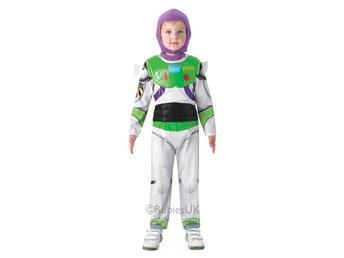 Buzz Lightyear DeLuxe 98/104cl (3-4 år) Hel dräkt med huva Toy Story Woodie