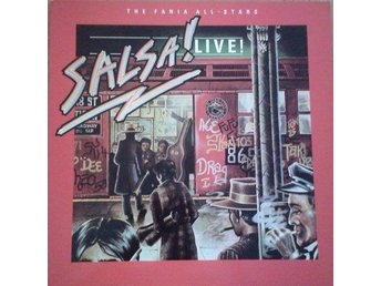 The Fania All-Stars  titel*  Salsa Live!* Latin, Afro-Cuban LP