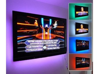 2M - LED-list LED-belysning TV-belysning RGB
