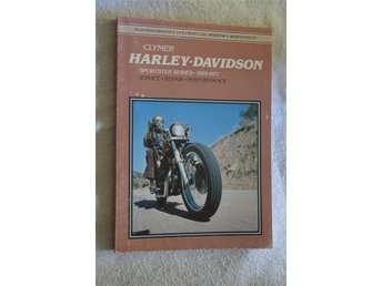CLYMER Repair Manual for Harley-Davidson Sportster 1959-1977