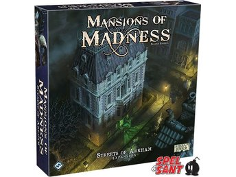 Mansions of Madness Second Edition Streets of Arkham Expansion