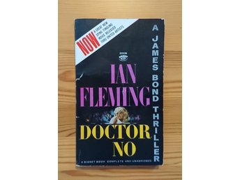 Ian Fleming / James Bond 007 - Doctor No (Dr.No) 1963 - Signet USA  / Fint skick