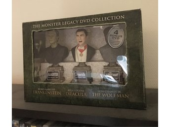 Monster Legacy Collection(14-disc, boris karloff, dracula, wolfman)