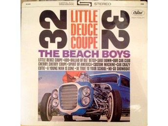 Beach Boys LP Little Deuce Coupe