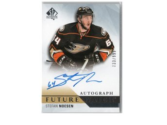 15-16 SP Authentic Future Watch Autographs Stefan Noesen /999