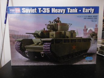 Hobby boss  1/35  soviet t35 heavy tank early