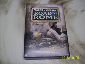 March to Victory - Road to Rome (5-disc) Utgått