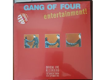"Gang Of Four ""Entertainment-live"" 2LP"