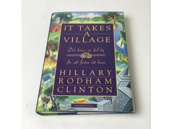 Bok, It takes a village, Hillary Rodham Clinton, Inbunden