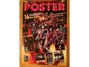 Poster Kiss special 78-80