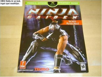 GUIDE WALKTHROUGH NINJA GAIDEN MICROSOFT XBOX *NYTT*