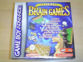 Ultimate Brain Games Nintendo Gameboy Game Boy Advance GBA *NYTT*