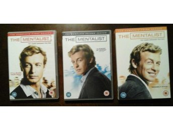 The Mentalist säsong 1,2 & 3