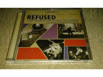 Refused - The Shape Of Punk To Come ( CD, PROMO - 1998 ) hardcore, punk