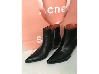 ACNE boots ankelboots cony som nya stl 37