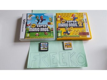 New Super Mario Bros 1 Och 2