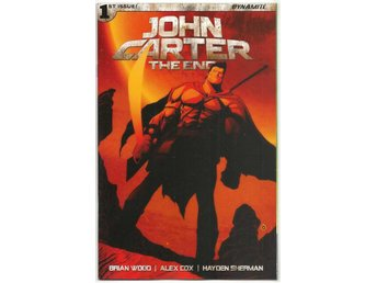John Carter: The End # 1 Cover B NM Ny Import