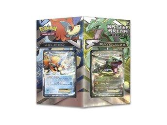 Pokemon Battle Arena Decks, Keldo EX vs; Rayquaza EX, Ny oöppnad. - Vindeln - Pokemon Battle Arena Decks, Keldo EX vs; Rayquaza EX, Ny oöppnad. - Vindeln