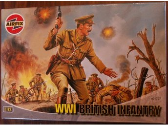 WWI BRITISH INFANTRY     AIRFIX  1/72 Byggsats