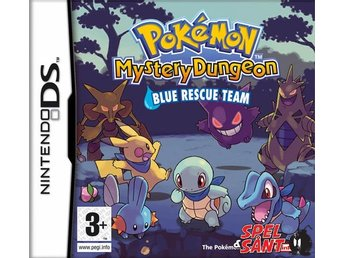 Pokemon Mystery Dungeon Blue Rescue Team (Bergsala Version)