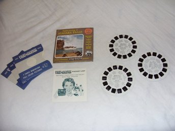 Sight Seeing at Niagara Falls Vintage View Master slides Sawyers Inc Rare 1958