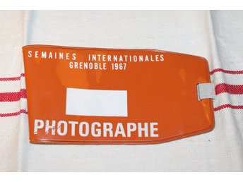 ARMBINDEL FOTOGRAF. SEMAINES INTERNATIONALES GRENOBLE 1967