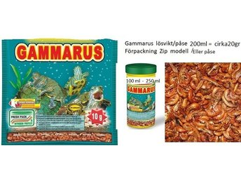 Gammarus 80ml   påse/zip