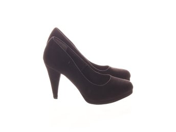 Vox Shoes, Pumps, Strl: 38, Svart, Mockaimitation