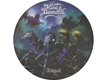 King Diamond -Abigail PIC-DISC Metal Blade ltd 2000 copies