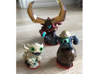 Skylanders Trap Team figurer