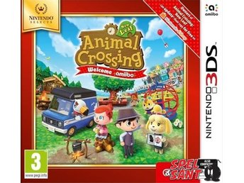 Animal Crossing New Leaf Welcome amiibo Nintendo Selects