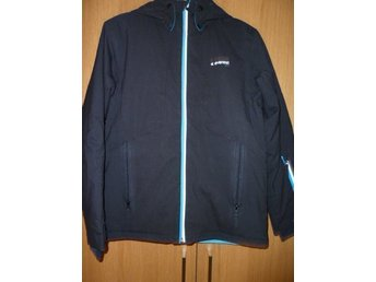 Everest Advanced tech softshell jacka 164 svart boys fodrad TCS water 10000