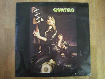 Suzi Quatro- Quatro (LP) UK-Press