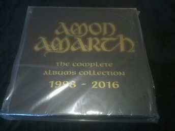 Amon Amarth - box. Sealed. (Hypocrisy Unleashed Grave Dismember entombed