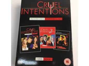 DVD VIDEO, DVD-Filmer, Cruel Intentions, Svart/Flerfärgad