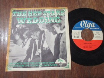"The Hep Stars ""Wedding/When My Blue Moon Turns To Gold Again"""