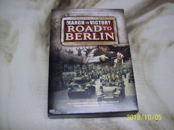 March to Victory - Road to Berlin (5-disc) - Utgått