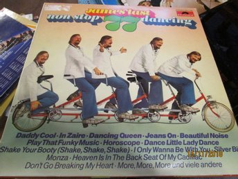 JAMES LAST - NON STOP DANCING 1977 - LP