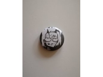Johnny The Homicidal Maniac JHTM - pin badge button jhonen vasquez lenore