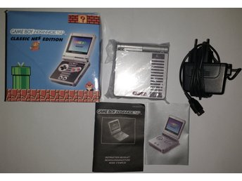 Gameboy Advance GBA SP AGS-001 NES Edition