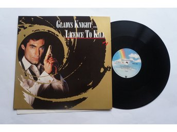 ** Gladys Knight ‎– Licence To Kill Jame Bond **