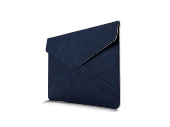 Leather Bag For 13.3 Inch Laptops 380x300mm - Blue