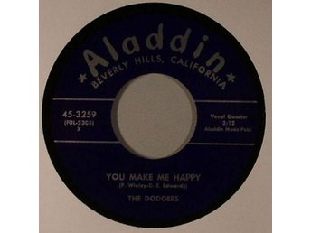 DODGERS - You Make Me Happy [7'' Vinyl] - NY
