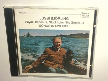 Jussi Bjorling - Songs in Swedish Royal Orchestra, CD